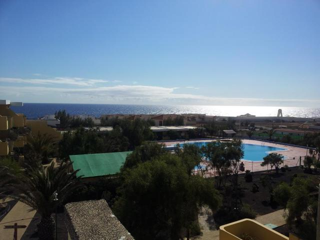 One bedroom holiday apartment, sleeps 4 people easily, south facing, communal swimming pool, local shops, internet cafe, bars and restaurants, magnificent sea view